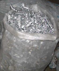 Алюминиевая стружка фото